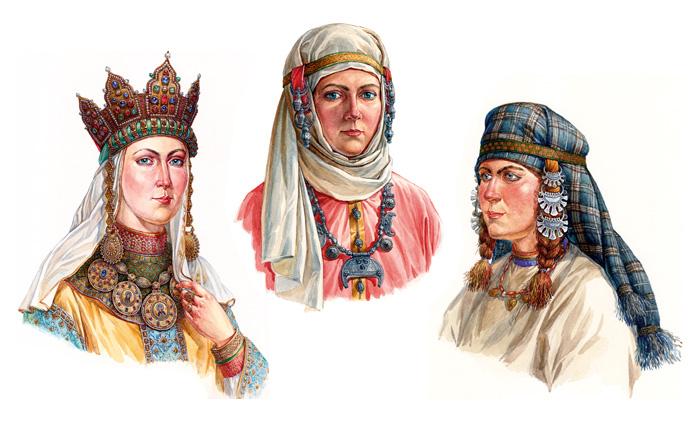 Древняя Русь, раннее средневековье(9-11 вв.) . 136 фотографий ВКонтакте