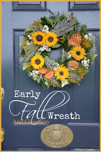 BLOG Early Fall Wreath Title Page stonegableblog - Copy (2) (426x640, 201Kb)