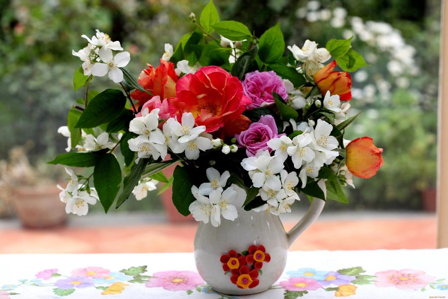 С добрым утром цветы картинки 7