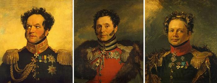 09 первые командиры полка кавалергардов (700x267, 61Kb)
