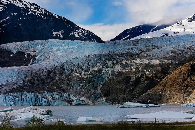 ледник менденхолл аляска фото (640x427, 254Kb)