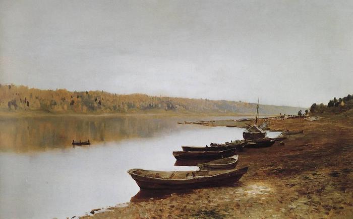 На Волге. 1887-1888 (700x436, 34Kb)