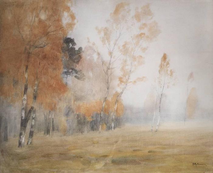 Туман. Осень. 1899 (700x568, 43Kb)