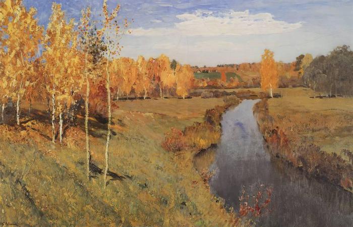 Золотая осень. 1895 (700x450, 57Kb)