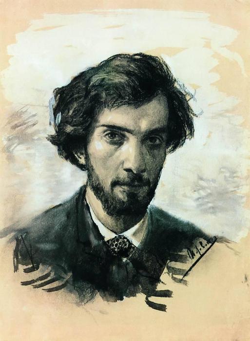 Автопортрет. 1880-е (513x700, 49Kb)