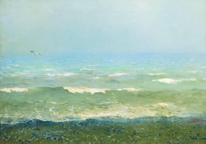 Берег Средиземного моря. 1890 (700x489, 36Kb)