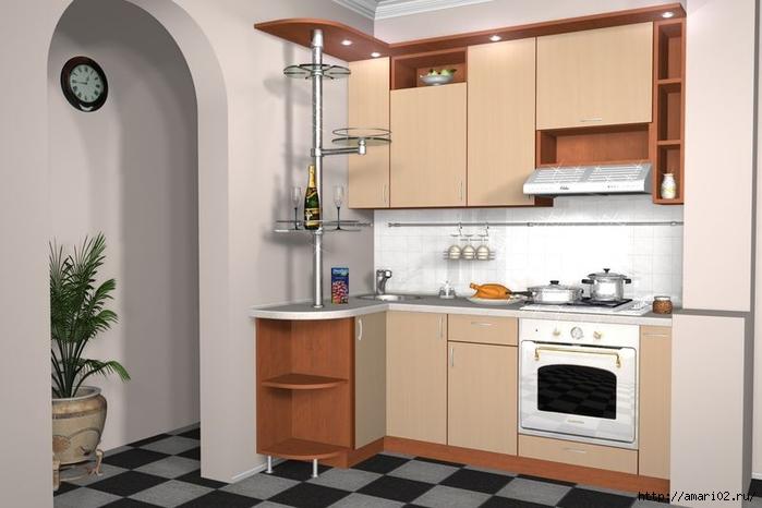 Мебель для малогабаритной кухни купить Кухни