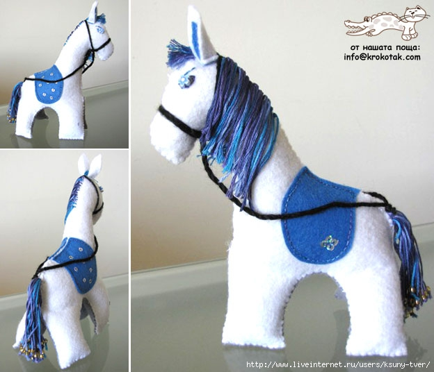 Как сшить лошадка своими руками 975