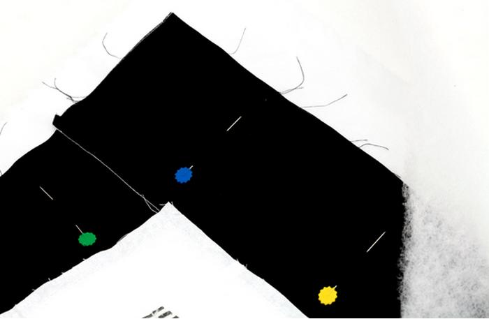 Детское одеяло в технике пэчворк с аппликацией пингвина (7) (700x457, 168Kb)