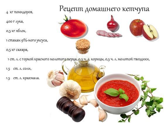 Рецепт приготовления кетчупа в домашних условия
