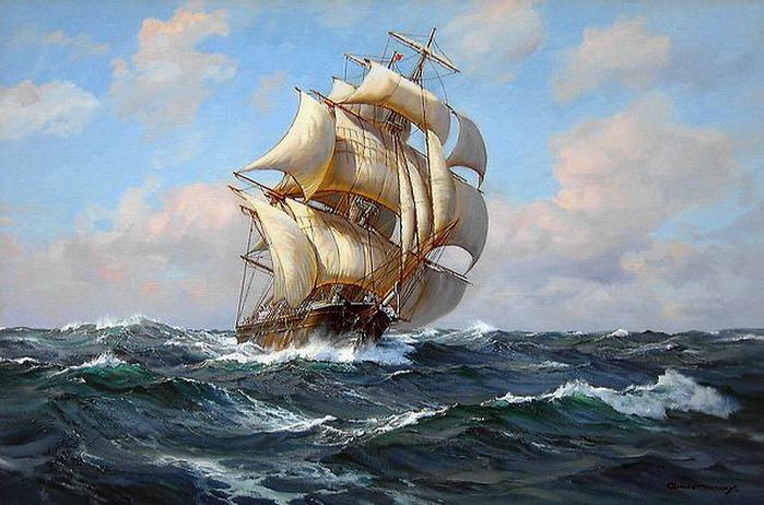 Слова связанные с морем и кораблями
