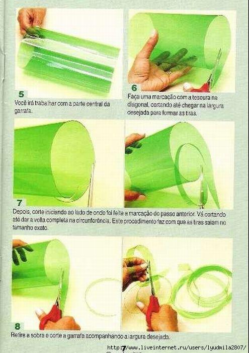 Инструкция поделок из пластиковых бутылок своими руками 525