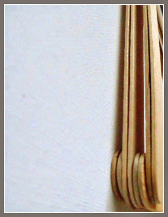 Рамочка из макарон и палочек от мороженого, с декупажем (8) (544x700, 349Kb)