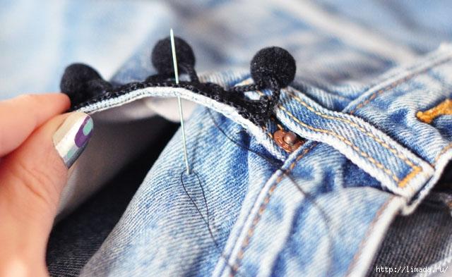 DIY-Pom-Pom-Jeans-Embellished-Vintage-Levis-3 (640x393, 176Kb)