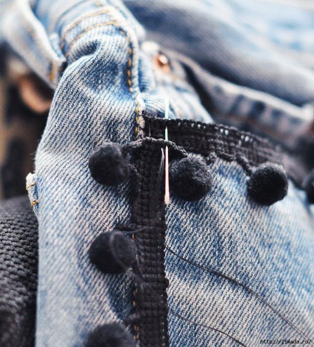 DIY-Pom-Pom-Jeans-Embellished-Vintage-Levis-5 (631x700, 390Kb)