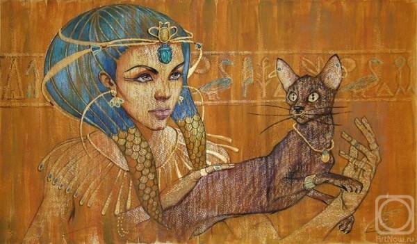 Кошки в Египте: просто картинка.