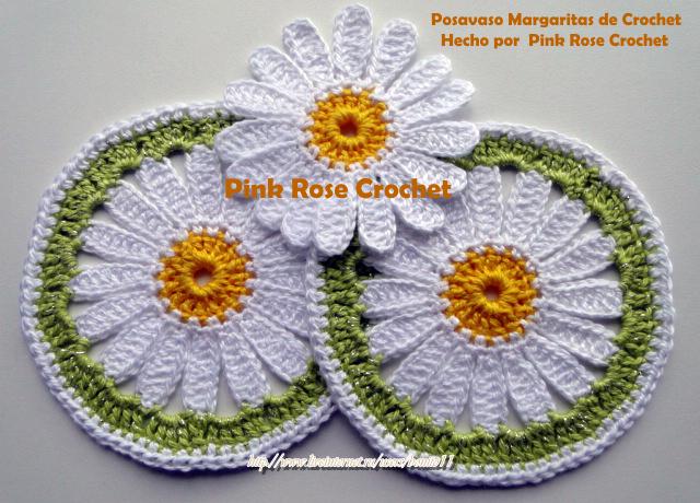 Posavaso Margarita de Crochet  Hecho por Pink Rose Crochet (640x460, 613Kb)