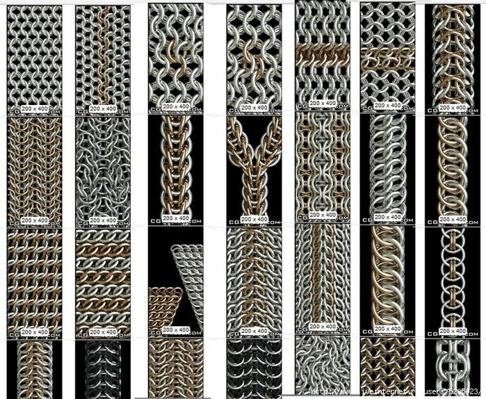 <кольчужное плетение - Самое
