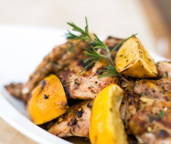 Рецепт хрустящей лимонной курицы (550x462, 173Kb)