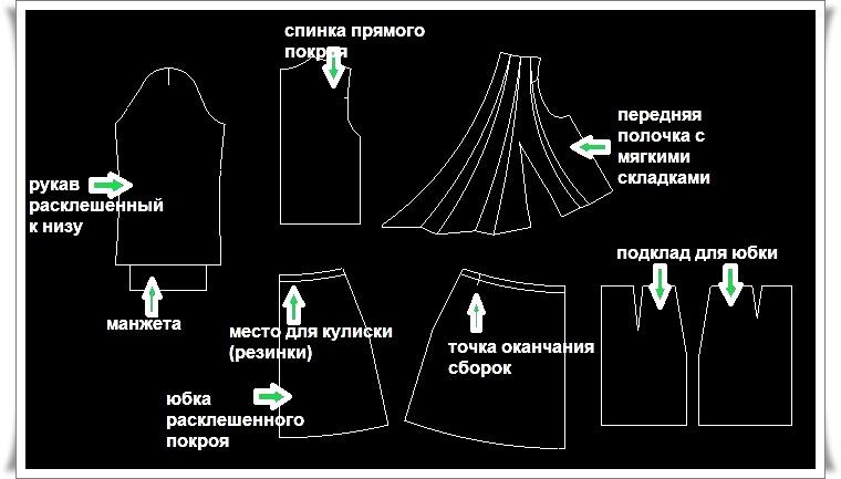 юбки в пол из плотной ткани
