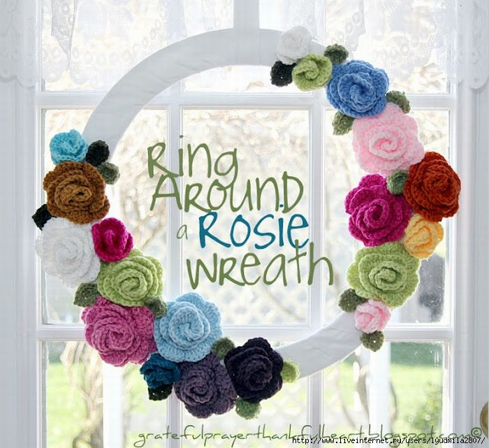 1-9-IMG_6819 Ring Around a Rosie Wreath words and wm (700x641, 220Kb)