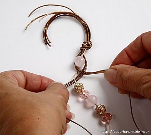 Плетение браслетов мастер класс видео