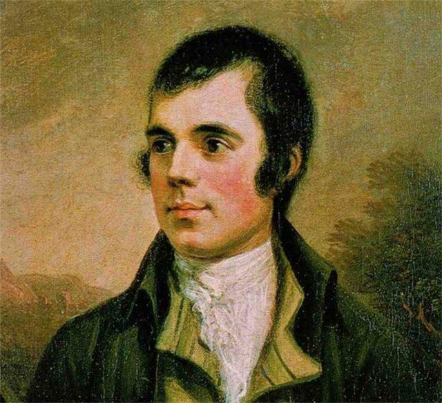 Роберт Бёрнс, великий Поэт Шотландии (1759 г. - 1796 г. жил всего 37 лет. Как и Сергей Есенин родился в простой, крестьянской семье)