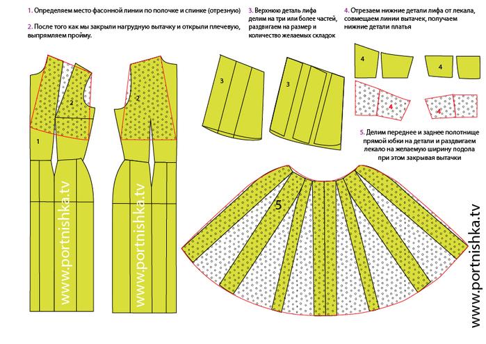 Ретро платье-01 (700x495, 307Kb)