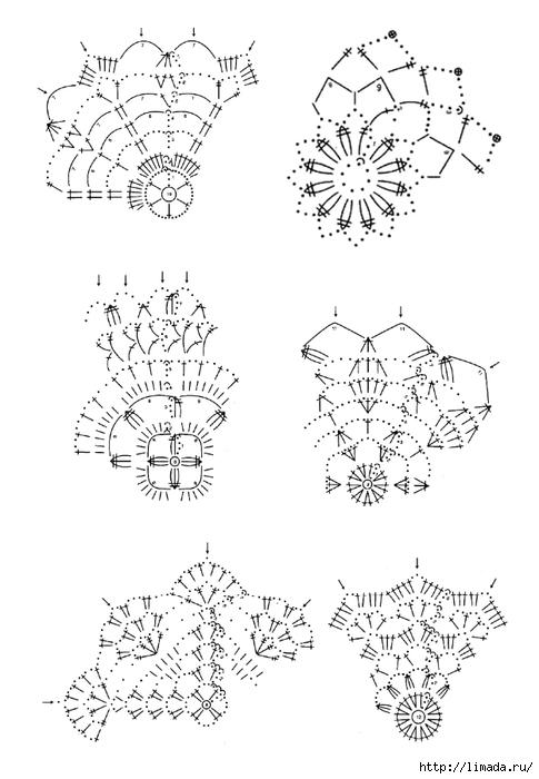 sxemy - vyazanyx - snezhinok - 4(485x700 151Kb),