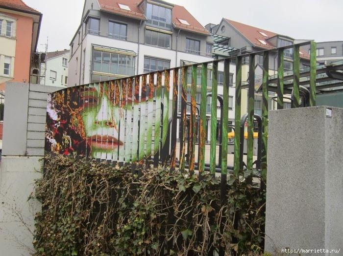 Граффити и Street Art. Самые красивые лестницы и ограды (26) (700x524, 330Kb)