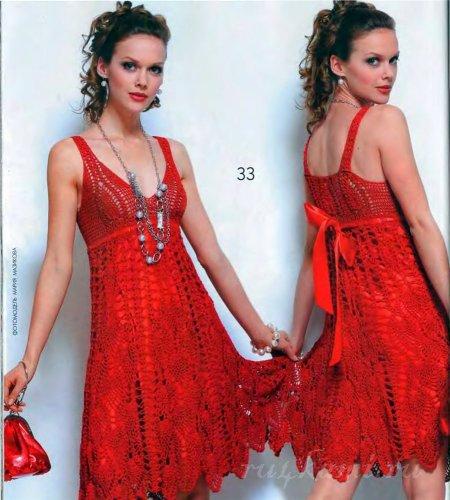 летнее красное платье1 (450x500, 53Kb)
