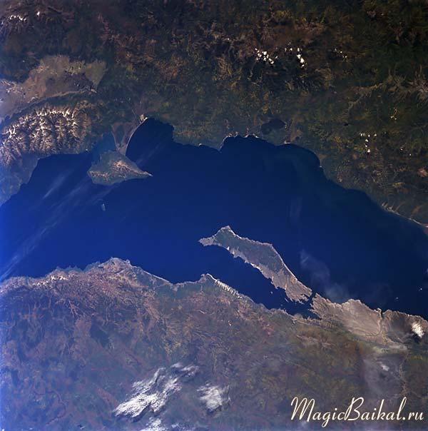 байкал снимки из космоса