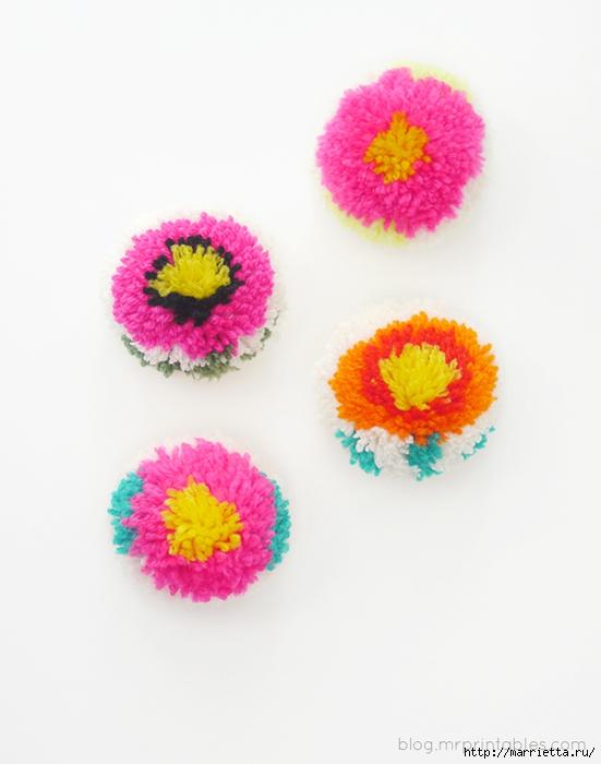Веселые цветочные помпоны. Идеи и мастер-классы (24) (551x700, 166Kb)