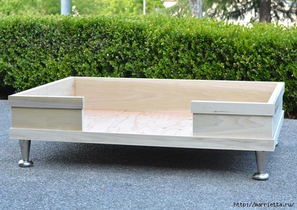 Кроватка в стиле модерн. Для собачки (7) (589x418, 211Kb)