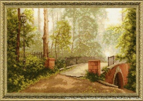 ЛП-012 Мост в старом парке (550x390, 211Kb)