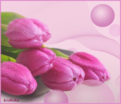 Розовые-тюльпаны (400x346, 231Kb)