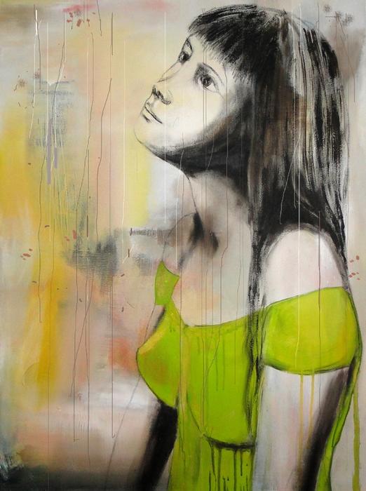 Яблочная девушка. Дора Маар (522x700, 411Kb)