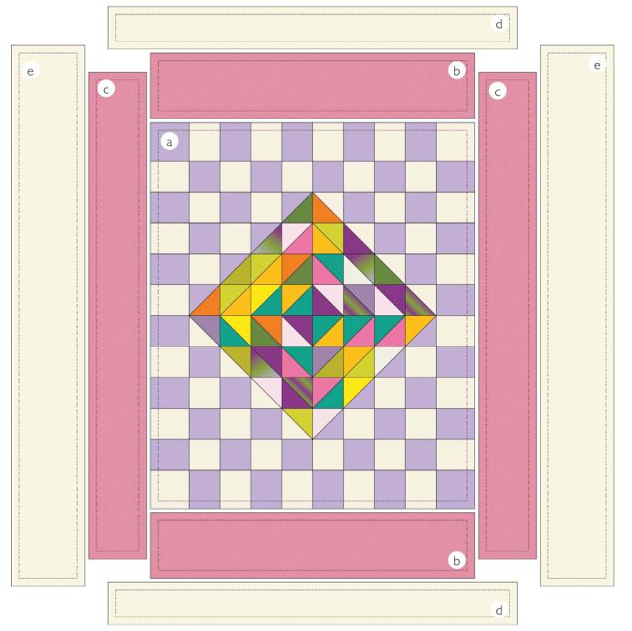 Текстильное покрывало в технике ПЭЧВОРК (1) (693x691, 229Kb)