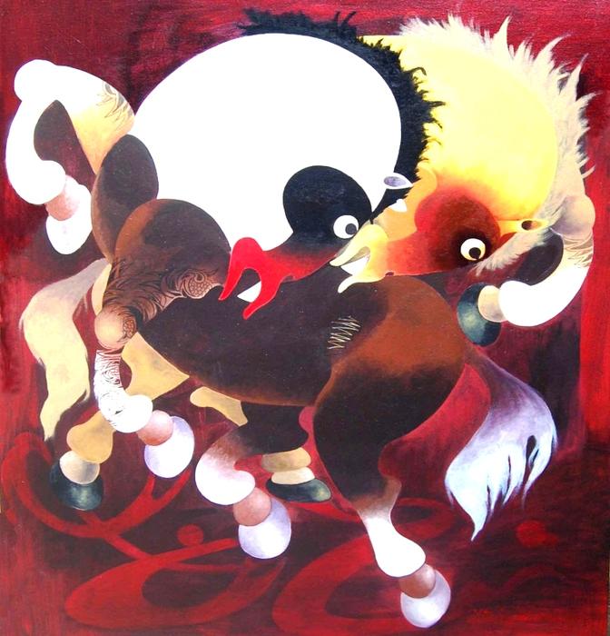 Копия Играющая лошадь (672x700, 479Kb)