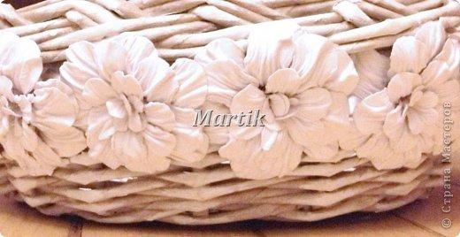 Плетенки из газет и цветы в технике бумагопластики (15) (520x268, 135Kb)