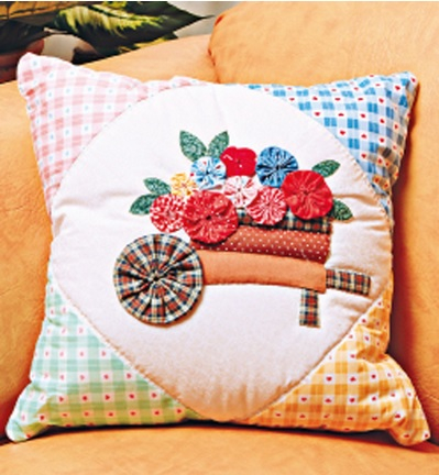 Цветочки ЙО-ЙО для покрывала и подушки (4) (399x432, 188Kb)