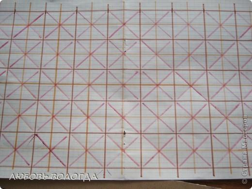 Плетение из газет. Мастер-класс на крышку с цветным узором из трубочек (2) (520x390, 197Kb)