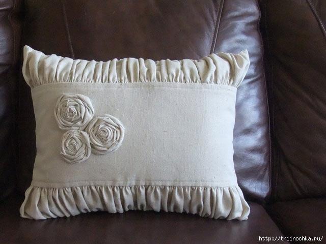 Красивые подушки-думочки!