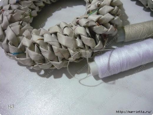 Плетение из газет. Велосипед. Мастер-класс (15) (520x390, 116Kb)