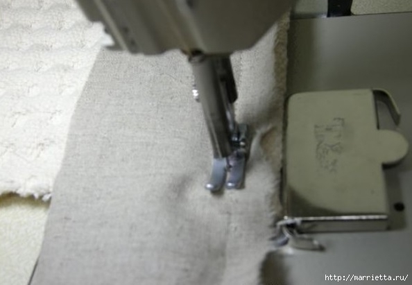 Окантовка лоскутного панно и одеяла. Фото мастер-класс (3) (594x411, 85Kb)