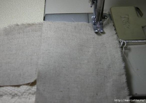 Окантовка лоскутного панно и одеяла. Фото мастер-класс (5) (583x412, 98Kb)