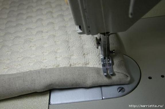 Окантовка лоскутного панно и одеяла. Фото мастер-класс (14) (575x381, 95Kb)