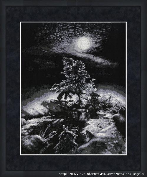 С-010 Зимняя ночь (499x600, 142Kb)