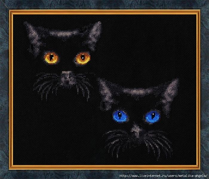 С-011 Сияние глаз (700x598, 295Kb)