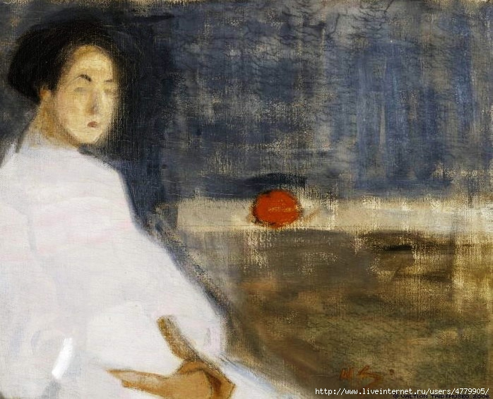 26_large_seated__woman__in__white_dress__1908 (698x565, 253Kb)